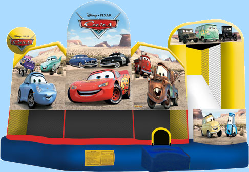 Disney Cars 5 In 1 Inflatable Combo