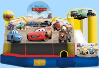 Disney Cars 5 In 1 Inflatable Rental