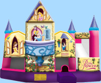 Disney Princess 3D 5 In 1 Inflatable Combo