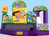 Dora The Explorer 5 In 1 Inflatable Combo