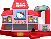 Hello Kitty 5 In 1 Inflatable Rental