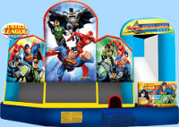 Justice League 5 In 1 Inflatable Combo