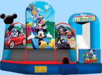 Mickey Mouse 5 In 1 Inflatable Combo