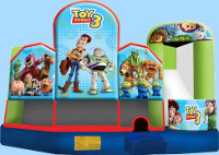 Toy Story 5 In 1 Inflatable Combo