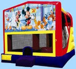 Mickey Mouse 4 In 1 Bouncer Rental