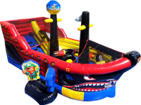 Pirate Ship Inflatable Interactive